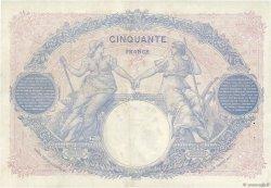 50 Francs BLEU ET ROSE FRANCE  1927 F.14.40 pr.SUP