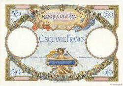 50 Francs LUC OLIVIER MERSON FRANCE  1927 F.15.00 NEUF