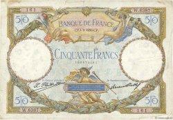 50 Francs LUC OLIVIER MERSON type modifié FRANCE  1930 F.16.01 TB