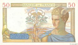 50 Francs CÉRÈS FRANCE  1936 F.17.28 SUP à SPL