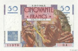 50 Francs LE VERRIER FRANCE  1946 F.20.02 NEUF