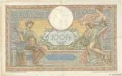 100 Francs LUC OLIVIER MERSON grands cartouches FRANCE  1925 F.24.03 pr.TTB