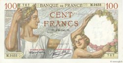 100 Francs SULLY FRANCE  1940 F.26.26 pr.NEUF