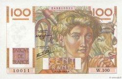 100 Francs JEUNE PAYSAN FRANCE  1946 F.28.09 NEUF