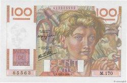 100 Francs JEUNE PAYSAN FRANCE  1946 F.28.12 NEUF