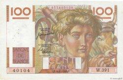 100 Francs JEUNE PAYSAN FRANCE  1950 F.28.28 SUP