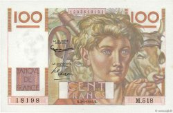 100 Francs JEUNE PAYSAN FRANCE  1953 F.28.35 pr.NEUF