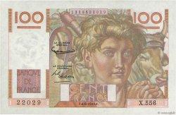 100 Francs JEUNE PAYSAN filigrane inversé FRANCE  1952 F.28bis.02 SPL
