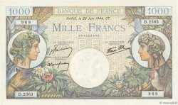 1000 Francs COMMERCE ET INDUSTRIE FRANCE  1944 F.39.09 pr.NEUF