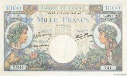 1000 Francs COMMERCE ET INDUSTRIE FRANCE  1944 F.39.11 NEUF