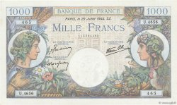 1000 Francs COMMERCE ET INDUSTRIE FRANCE  1944 F.39.12 NEUF