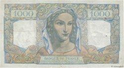1000 Francs MINERVE ET HERCULE FRANCE  1950 F.41.33