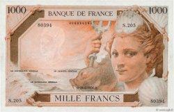 1000 Francs AMPHITRITE FRANCE  1954 F.42E.01 NEUF