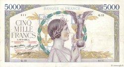 5000 Francs VICTOIRE Taille Douce FRANCE  1935 F.44.02 TTB