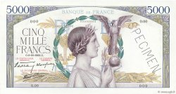 5000 Francs VICTOIRE Impression à plat FRANCE  1938 F.46.00 pr.NEUF