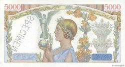 5000 Francs VICTOIRE Impression à plat FRANCE  1938 F.46.00s1 pr.NEUF