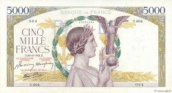 5000 Francs VICTOIRE Impression à plat FRANCE  1941 F.46.31 SPL