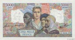 5000 Francs EMPIRE FRANÇAIS FRANCE  1947 F.47.58 SPL