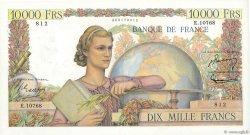 10000 Francs GÉNIE FRANÇAIS FRANCE  1956 F.50.79 SUP
