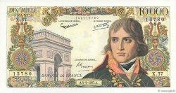 10000 Francs BONAPARTE FRANCE  1957 F.51.07 SUP à SPL