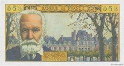 5 Nouveaux Francs VICTOR HUGO FRANCE  1964 F.56.15 pr.NEUF