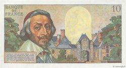 10 Nouveaux Francs RICHELIEU FRANCE  1959 F.57.01 SPL+
