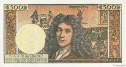 500 Nouveaux Francs MOLIÈRE FRANCE  1964 F.60.07 SPL