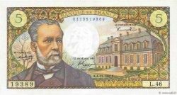 5 Francs PASTEUR FRANCE  1966 F.61.04 NEUF