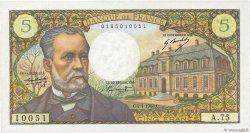 5 Francs PASTEUR FRANCE  1968 F.61.07 SUP