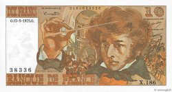 10 Francs BERLIOZ FRANCE  1975 F.63.10 SPL+
