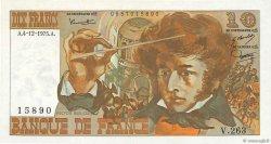 10 Francs BERLIOZ FRANCE  1975 F.63.15 SPL