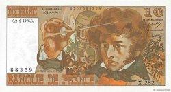 10 Francs BERLIOZ FRANCE  1976 F.63.16a SPL