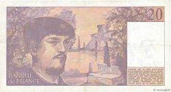 20 Francs DEBUSSY FRANCE  1981 F.66.02 TTB+