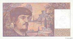 20 Francs DEBUSSY FRANCE  1983 F.66.04 SUP+
