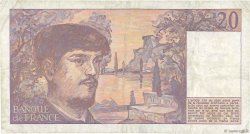 20 Francs DEBUSSY FRANCE  1983 F.66.04 pr.TTB
