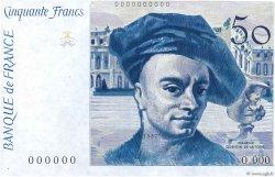 50 Francs QUENTIN DE LA TOUR FRANCE  1987 F.67.00 NEUF