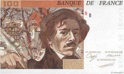 100 Francs DELACROIX FRANCE  1987 F.68.00e2 NEUF