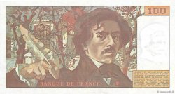100 Francs DELACROIX FRANCE  1978 F.68.03 SUP