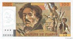 100 Francs DELACROIX FRANCE  1978 F.68.03 SPL