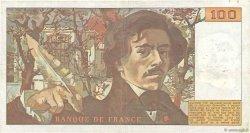 100 Francs DELACROIX FRANCE  1978 F.68.04 pr.TTB
