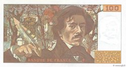 100 Francs DELACROIX modifié FRANCE  1978 F.69.01e NEUF
