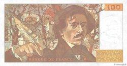 100 Francs DELACROIX modifié FRANCE  1989 F.69.13c NEUF