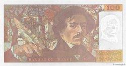 100 Francs DELACROIX imprimé en continu FRANCE  1990 F.69bis.01b8 NEUF