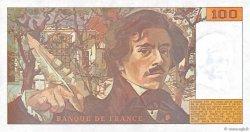 100 Francs DELACROIX imprimé en continu FRANCE  1990 F.69bis.02e2 NEUF