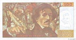 100 Francs DELACROIX imprimé en continu FRANCE  1991 F.69bis.03a3 NEUF