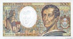 200 Francs MONTESQUIEU FRANCE  1992 F.70.12b NEUF