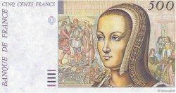 500 Francs RENAISSANCE FRANCE  1987 F.71E.02a NEUF