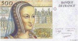 500 Francs RENAISSANCE / ANNE DE BRETAGNE FRANCE  1987 F.71- NEUF