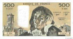 500 Francs PASCAL FRANCE  1985 F.71.33 SPL