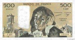 500 Francs PASCAL FRANCE  1987 F.71.36 SPL
